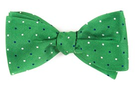 Bow Ties - JPL Dots - Clover Green