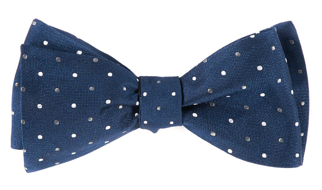 Edwardian Men's Neckties JPL Dots Bowtie $19.00 AT vintagedancer.com