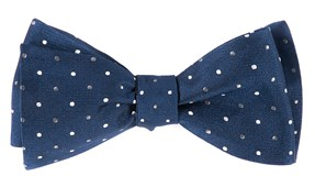 Bow Ties - JPL Dots - Navy