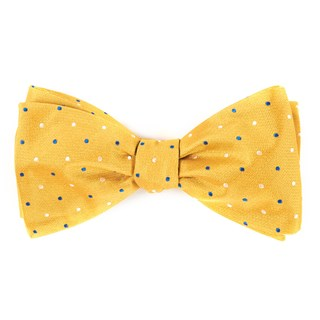 jpl dots yellow bow ties