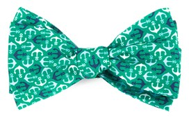 Bow Ties - Voyage - Emerald Green