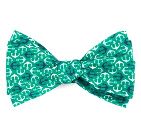 Emerald Green Voyage bow ties