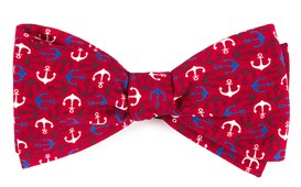 Bow Ties - Voyage - Red