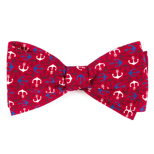 Red Voyage Bow Tie