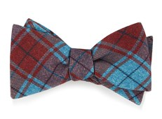 BOW TIES - MERCHANTS ROW PLAID - RED