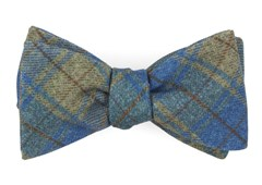 Bow Ties - Merchants Row Plaid - Classic Blue