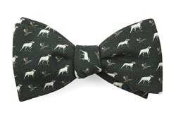 Bow Ties - Boldrewood Chase - Dark Olive Green