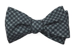 Bow Ties - Woolf Houndstooth - Black