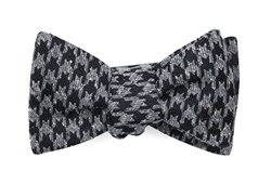 Bow Ties - Houndstooth Thrill - Black