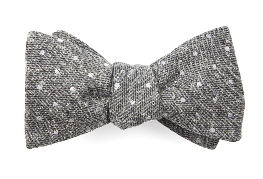 New 1930s Mens Fashion Ties Knotted Dots $19.00 AT vintagedancer.com