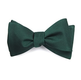 Hunter Grosgrain Solid boys bow ties