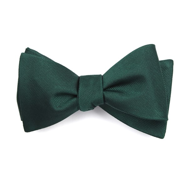 Hunter Grosgrain Solid Bow Tie