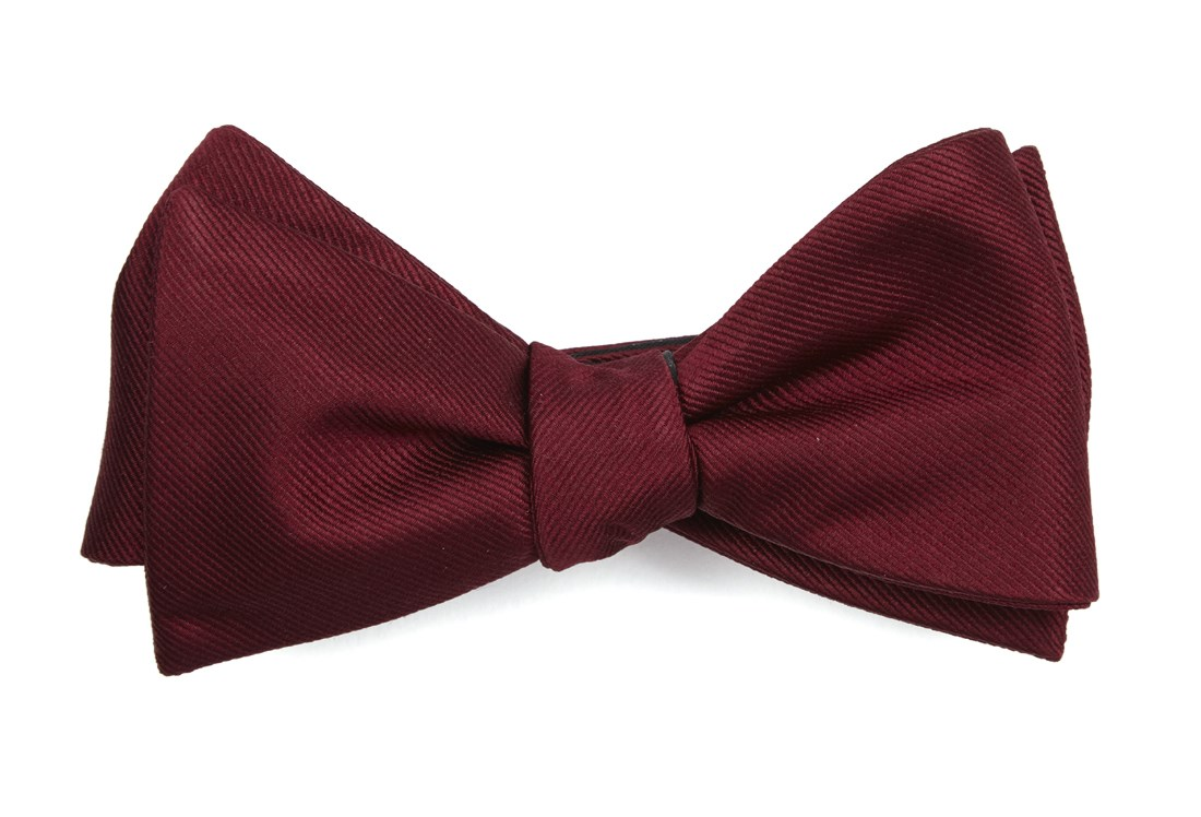 d416f57a95e Burgundy Grosgrain Solid Bow Tie.  19.00. (USD). Save · GrosGrain Solid -  Burgundy