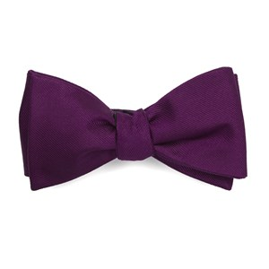grosgrain solid azalea bow ties
