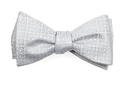 Bow Ties - Opulent - Light Silver