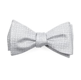 Light Silver Opulent bow ties