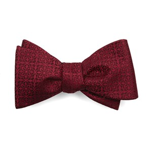 opulent red bow ties