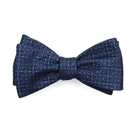 Opulent Classic Blue Bow Ties