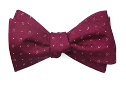 Bow Ties - Geo Key - Magenta