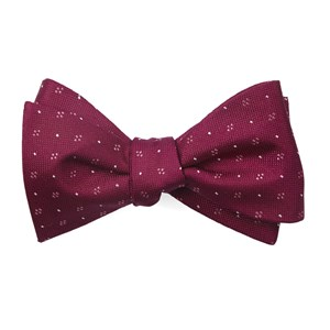 geo key magenta bow ties