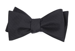 Bow Ties - Sound Wave Herringbone - Black