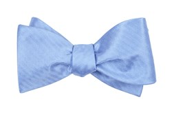 Bow Ties - Sound Wave Herringbone - Light Blue