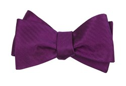 Bow Ties - Sound Wave Herringbone - Azalea