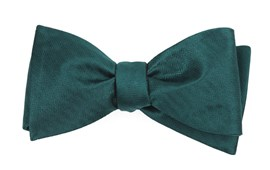 Bow Ties - Sound Wave Herringbone - Hunter Green