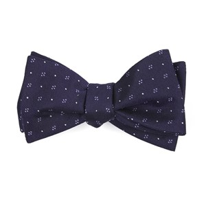 geo key eggplant bow ties