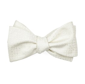 Ivory Opulent bow ties