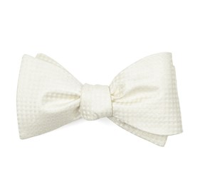 Ivory Be Married Checks boys bow ties