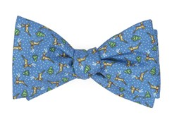 Bow Ties - Christmas Fleet - Serene Blue