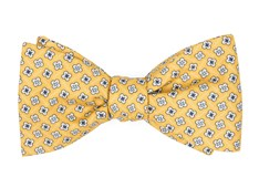 Bow Ties - Spinner - Yellow