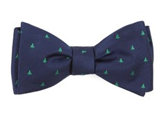 Bow Ties - Evergreen - Navy