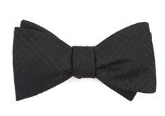 Bow Ties - Jazz Plaid - Black