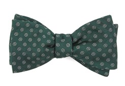 Bow Ties - Eagle Eye Medallion - Hunter Green