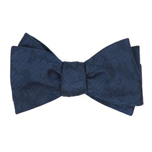 refinado floral navy boys bow ties