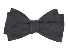 Bow Ties - Refinado Floral - Black