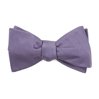 grosgrain solid lavender boys bow ties
