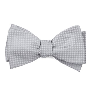 be married checks silver bow ties