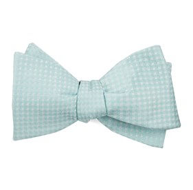 Spearmint Be Married Checks bow ties