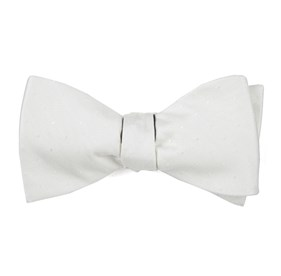 Ivory Love At First Dot bow ties