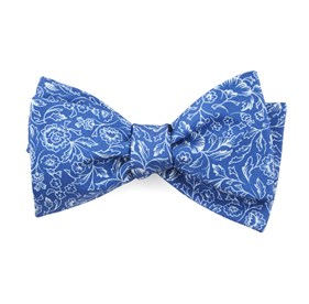 Bracken Blossom Royal Blue Bow Ties