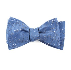 Blue Constellations bow ties