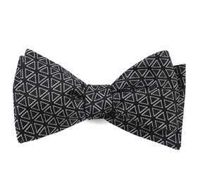 Black Triad bow ties
