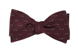 Bow Ties - Arrow Zone - Burgundy