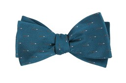 Bow Ties - Arrow Zone - Green Teal