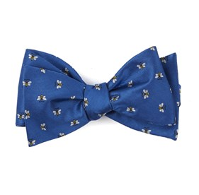 Reeds Bees Royal Blue Bow Ties