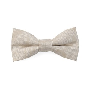 refinado floral light champagne boys bow ties
