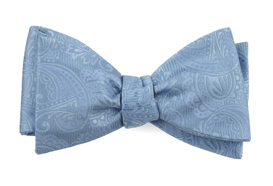 Solid Steel Blue Boys Necktie